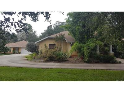 Hernando Single Family Home For Sale: 136 E Pilar Street