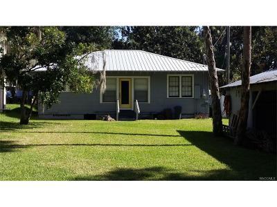 Yankeetown Single Family Home For Sale: 5327 Riverside Drive