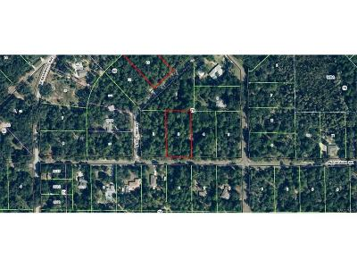 Citrus County Residential Lots & Land For Sale: 8945 N Cacalia Drive