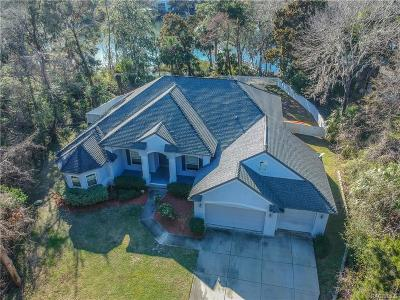 Crystal River Single Family Home For Sale: 720 NW Snug Harbor Road
