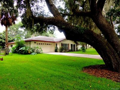 Inverness Single Family Home For Sale: 2908 Circle Drive