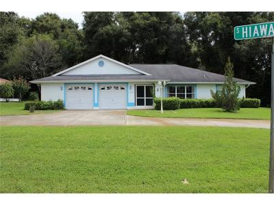Single Family Home For Sale: 3289 S Blackmountain Drive