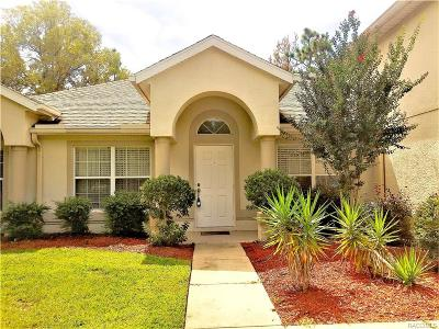 Homosassa Single Family Home For Sale: 10 Stokesia Court S