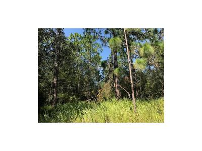 Beverly Hills Residential Lots & Land For Sale: 2972 W Beamwood Drive
