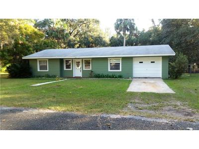Levy County Single Family Home For Sale: 136 Allen Avenue