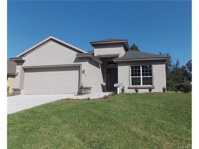 Lecanto FL Single Family Home For Sale: $286,654