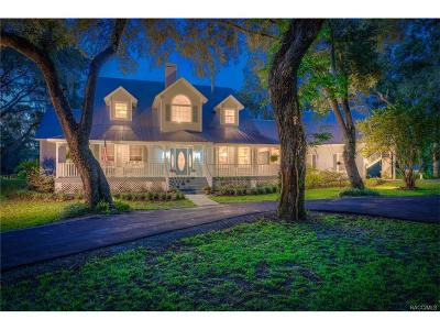 Citrus County Single Family Home For Sale: 10700 N Sunflower Point