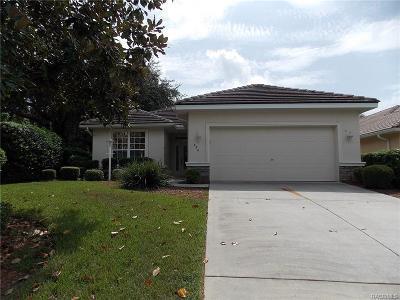 Hernando FL Single Family Home For Sale: $197,500