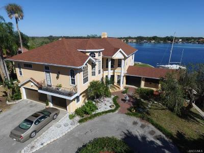 Crystal River Single Family Home For Sale: 2111 N Watersedge Drive