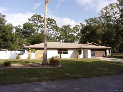 Inverness FL Single Family Home For Sale: $249,900