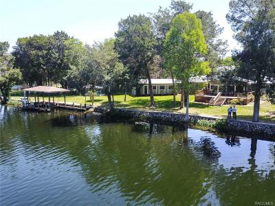 Citrus County Single Family Home For Sale: 11588 N Caribee Point