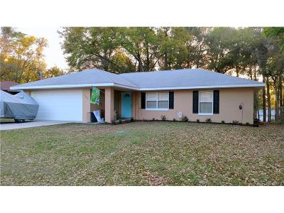 Inverness Highlands West Single Family Home For Sale: 3474 S Oakdale