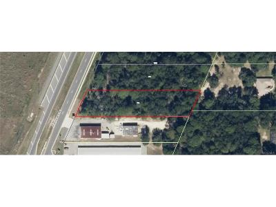 Citrus County Residential Lots & Land For Sale: 1643 N Lecanto Highway