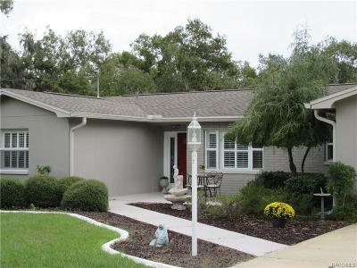 Crystal River Single Family Home For Sale: 123 N Pompeo Avenue