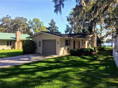 Floral City Single Family Home For Sale: 6740 S Merleing Loop