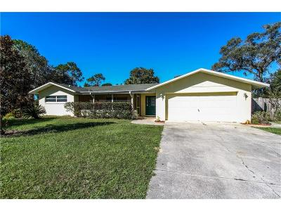 Crystal River Single Family Home For Sale: 1117 NE 1st Terrace