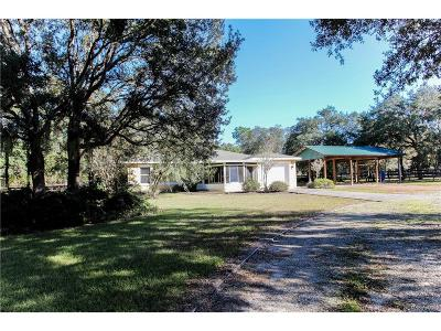 Hernando FL Single Family Home For Sale: $155,000