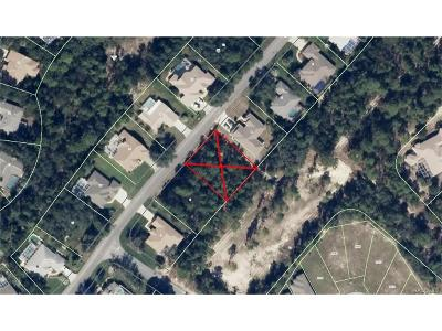 Sugarmill Woods Residential Lots & Land For Sale: 53 Linder Drive