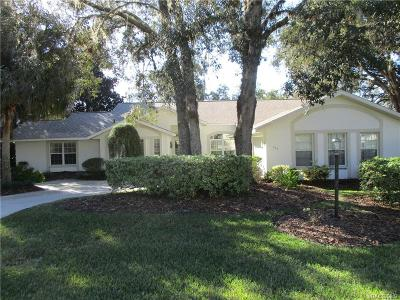 Citrus Hills Single Family Home For Sale: 532 E Jenkins Court