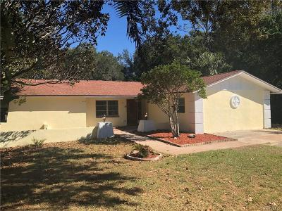 Citrus Springs Single Family Home For Sale: 2191 W Doral Court