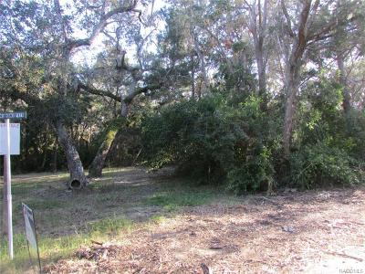 Citrus County Residential Lots & Land For Sale: 1358 S Estuary Trail