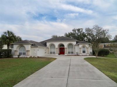 Homosassa Single Family Home For Sale: 153 Douglas Street