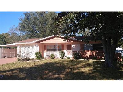 Citrus County Single Family Home For Sale: 210 S Jefferson Street