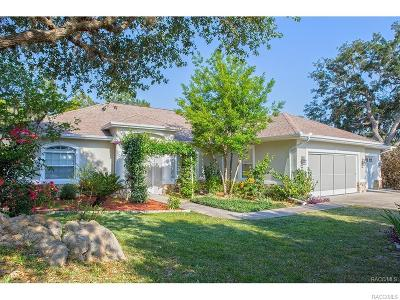 Homosassa, Dunnellon Single Family Home For Sale: 5735 W Paprika Loop