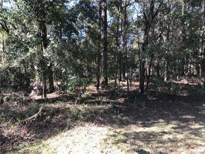 Citrus County Residential Lots & Land For Sale: 6161 Loring Lane E