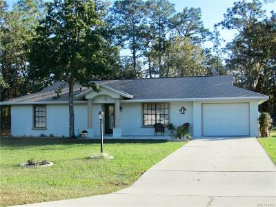 Inverness Single Family Home For Sale: 2454 E Marcia Street