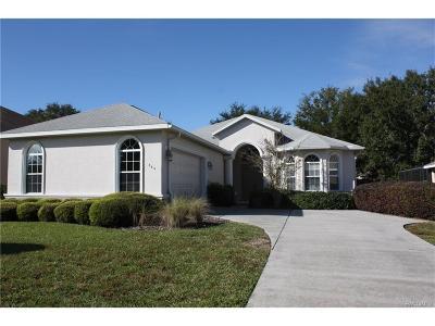 Hernando Single Family Home For Sale: 440 W Cobblestone Loop