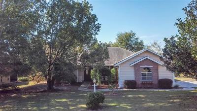 Citrus Hills - Cambridge Greens Single Family Home For Sale: 1344 N Mediterranean Street