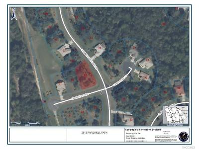 Hernando Residential Lots & Land For Sale: 2613 E Farewell Path