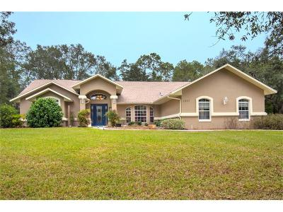 Hernando Single Family Home For Sale: 1097 W Pearson Street