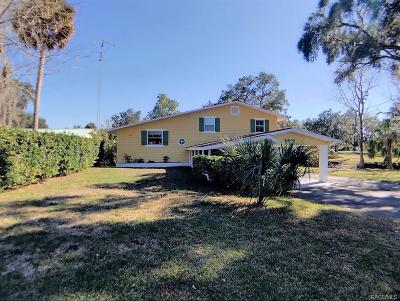 Inglis Single Family Home For Sale: 11565 N Caribee Point
