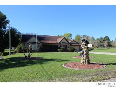 Lecanto FL Single Family Home For Sale: $399,900
