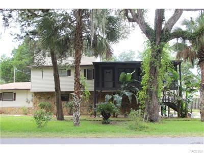 Homosassa, Dunnellon Single Family Home For Sale: 5760 S Mason Creek Road