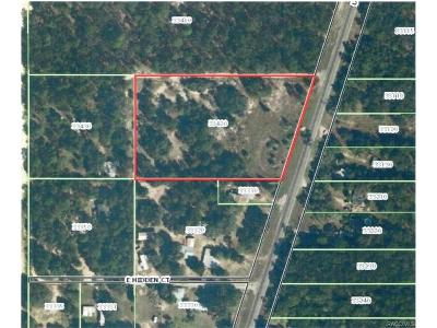Floral City FL Residential Lots & Land For Sale: $149,900