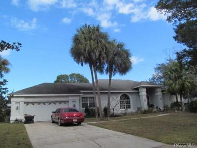 Homosassa Single Family Home For Sale: 5983 S Shadytree Path