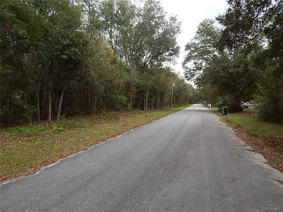Citrus County Residential Lots & Land For Sale: 3613 E Bernice Street