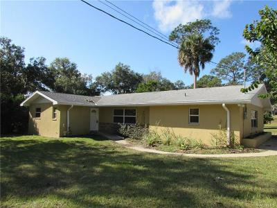 Dunnellon Single Family Home For Sale: 21376 Shawnee Drive