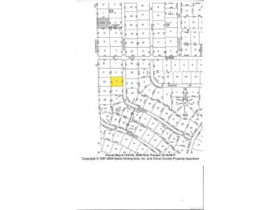 Beverly Hills Residential Lots & Land For Sale: 4538 N Baywood Drive