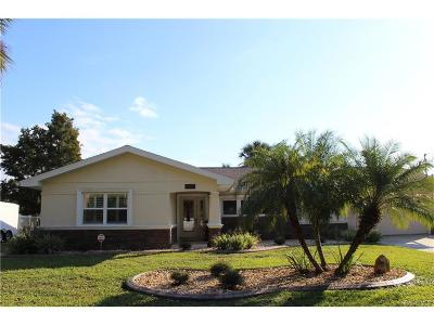 Homosassa Single Family Home For Sale: 4127 S Taylor Terrace