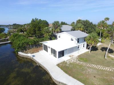 Crystal River Single Family Home For Sale: 13980 W Sanddollar Lane