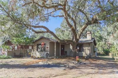 Floral City Single Family Home For Sale: 7020 S Lloyd Terrace
