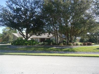Lecanto FL Single Family Home For Sale: $695,000