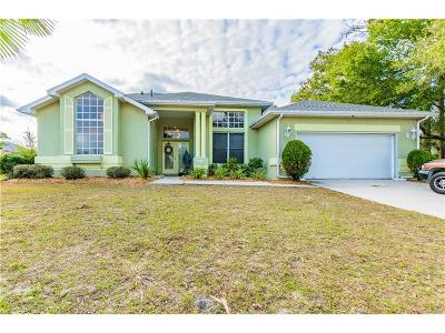 Lecanto Single Family Home For Sale: 3798 W Northcrest Court