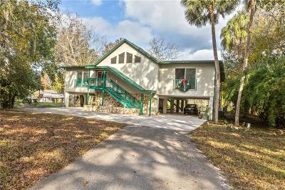 Citrus County Single Family Home For Sale: 14131 W River Road