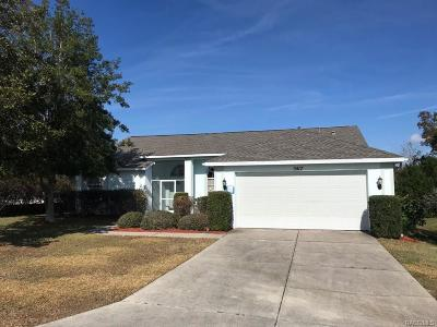 Lecanto Single Family Home For Sale: 5417 W Heather Ridge Path