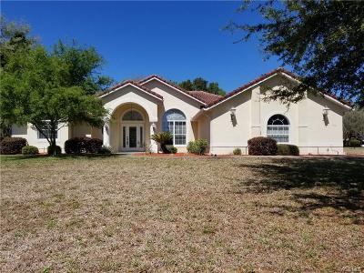 Hernando FL Single Family Home For Sale: $289,900
